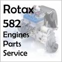 Rotax 582, Rotax 582 aircraft engine rebuilding manual for the 582 Rotax  engine.
