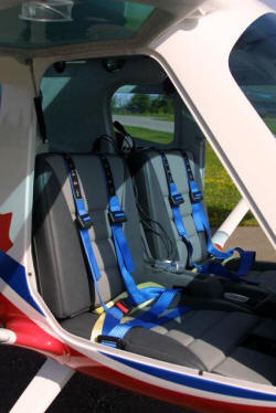 3 Xtreme well padded seats and seat belts and should harness.