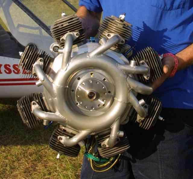 A radial engine on a bug?