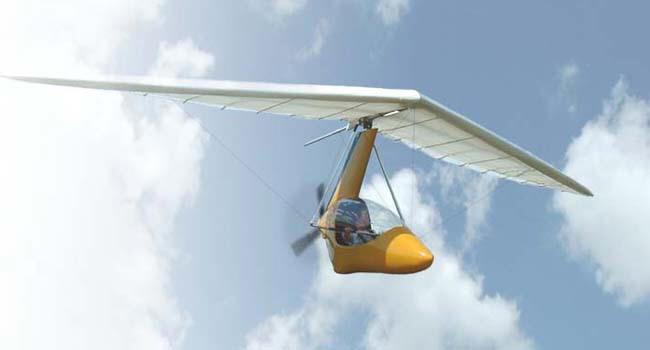 Seagull Escape Pod, part 103 legal ultralight trike, and