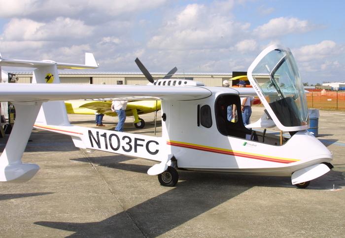 Colyaer S100 Freedom, LSA Aero Colyaer S100 Freedom amphibious light