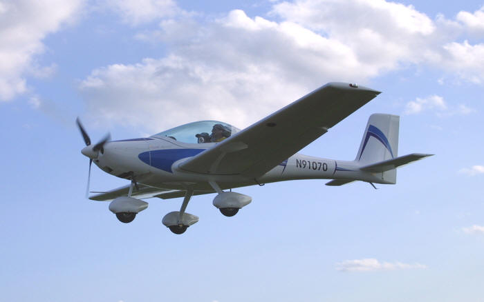 LSA America Interplane Mystique light sport aircraft